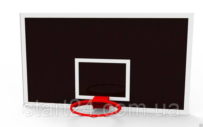Щит баскетбольний шкільний 1800х1050мм з вологостійкої фанери 15 мм, фото 2