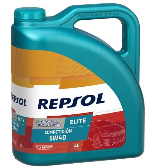 Моторное масло REPSOL ELITE COMPETICION 5W-40 4л