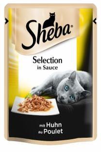 Влажный консервированный корм с Курицей в соусе 85 г Sheba Шеба