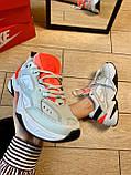 Кроссовки Nike M2K Tekno Найк М2К Текно кожа 🔥 Найк женские кроссовки 🔥, фото 3