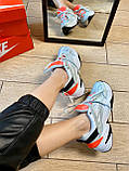 Кроссовки Nike M2K Tekno Найк М2К Текно кожа 🔥 Найк женские кроссовки 🔥, фото 6