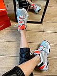 Кроссовки Nike M2K Tekno Найк М2К Текно кожа 🔥 Найк женские кроссовки 🔥, фото 4