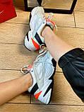 Кроссовки Nike M2K Tekno Найк М2К Текно кожа 🔥 Найк женские кроссовки 🔥, фото 8