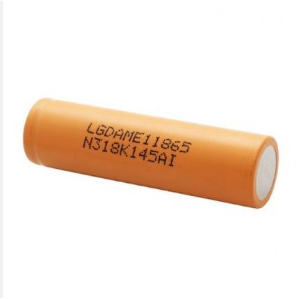 Литий-ионный аккумулятор 18650 LG INR18650 ME1 (LGDAME11865), 2100mAh, 4.2A, 4.2/3.65/2.8V, фото 2