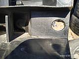 Абсорбер (усилитель) переднего бампера правый Рено Клио 2 б/у, фото 2