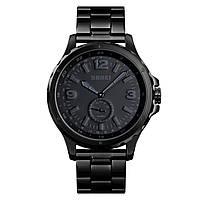 Skmei 1513 черные классические часы мужские, фото 1