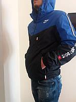 Курточка ветровка мужская в расцветках 223, фото 1