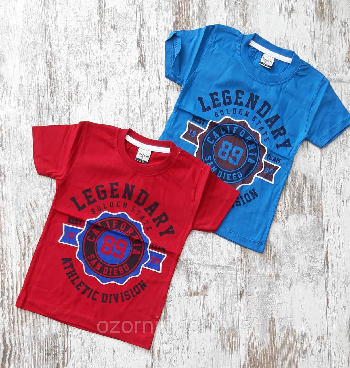 четкая футболка для мальчиков