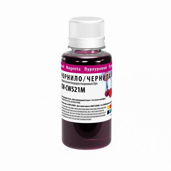 Чорнила Colorway CW521M01 Magenta
