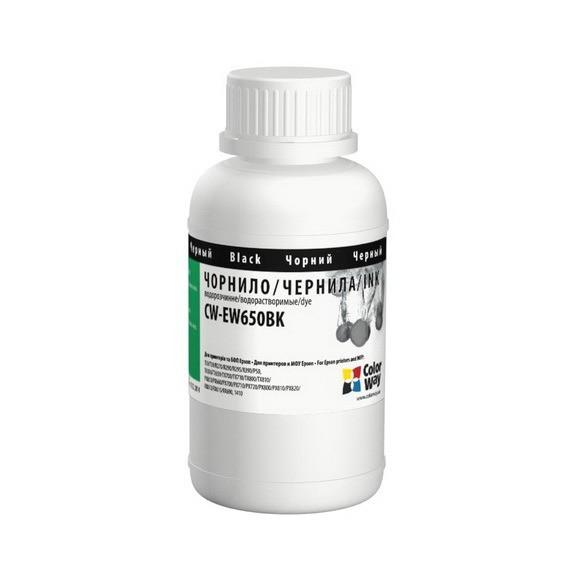 Чорнила Colorway EW650BK02