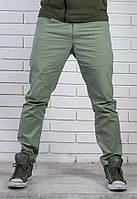 Стильные мужские брюки Чинос бирюза, фото 1