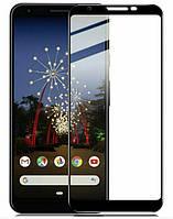 Защитное стекло 2.5D на весь экран (с клеем по всей поверхности) для Google Pixel 3A