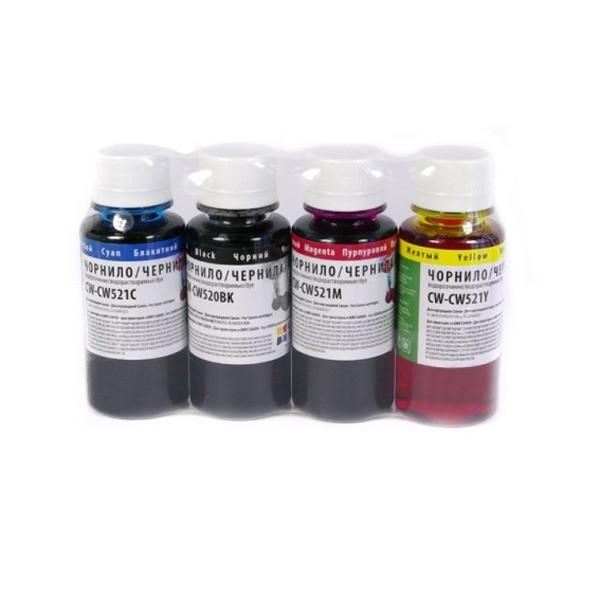 Чорнила Colorway CW520/CW521SET02
