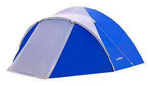 Палатка 3-местная Presto Acamper ACCO 3 PRO синяя - 3000мм. H2О - 3,2 кг.