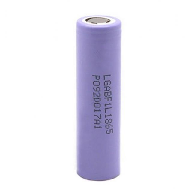Литий-ионный аккумулятор 18650 LG INR18650 F1L, 3350mAh, 4.875A, 4.2/3.7/2.5V