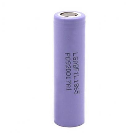 Литий-ионный аккумулятор 18650 LG INR18650 F1L, 3350mAh, 4.875A, 4.2/3.7/2.5V, фото 2