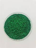 Сыпучие блестки глиттеры Зелёный 10 г