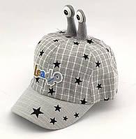 Детская бейсболка кепка с 48 по 52 размер детские бейсболки головные уборы кепки лён для мальчика, фото 1