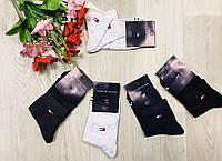 Носки спортивные летние сетка средние хлопок короткие Tommy Hilfiger Турция размер 36-41