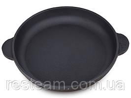 Сковородка Brizoll чугун 160*25 порц. с доской б/р Н1625-Д