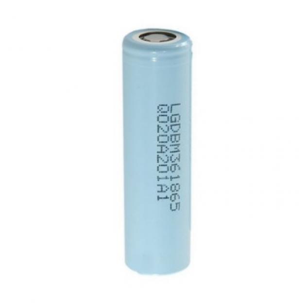 Литий-ионный аккумулятор 18650 LG LGDBM361865 (LG M36), 3450mAh, 10A, 4.2/3.63/2.5V