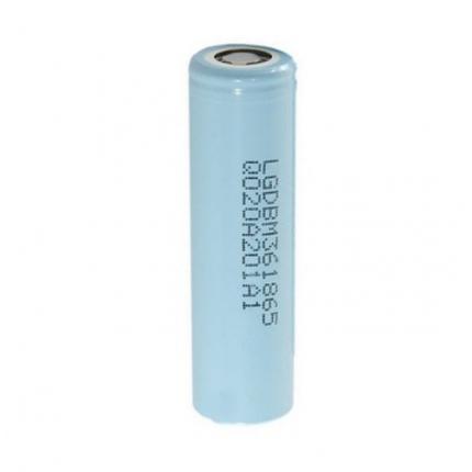 Литий-ионный аккумулятор 18650 LG LGDBM361865 (LG M36), 3450mAh, 10A, 4.2/3.63/2.5V, фото 2