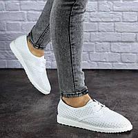Женские белые туфли Twinkle 1784 (весна - лето)