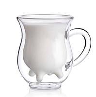 Молочник с двойными стенками - 240 мл (Herisson)