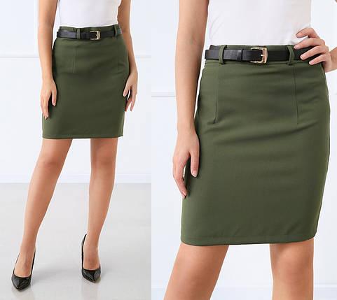 """Женская юбка мини """"Gloss"""", фото 2"""