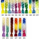 💙💜 Канекалон Омбре фиолетовые оттенки, коса прядь для причёсок 💙💜, фото 9