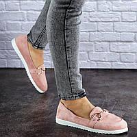 Женские пудровые туфли Randy 1785 (весна - лето)