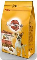 Сухой корм с Говядиной и овощами для собак малых пород 400 г Pedigree Mini Педигри Мини