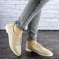 Женские бежевые туфли Lippy 1755