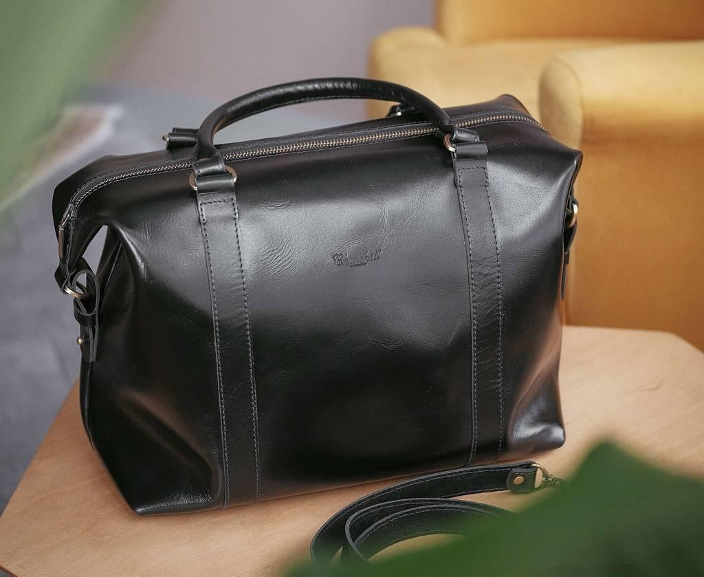 Дорожная сумка Weekender Black.