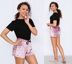 """Велюровые шорты короткие """"Trixi"""", фото 2"""