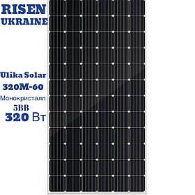 Солнечная панель Ulica Solar UL-320M-60, монокристалл, 320 Вт, 5 ВВ, 60 CELL