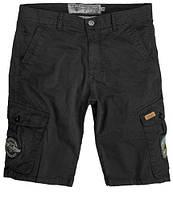 Шорты мужские Top Gun Cargo Shorts TGC1701 (Black), фото 1