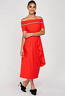 Красива червона сукня жіноча розмір 44, 46, 48