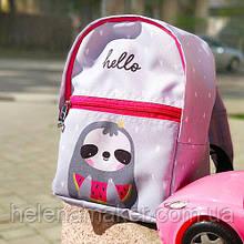 Тканевый рюкзак для девочки Ленивец
