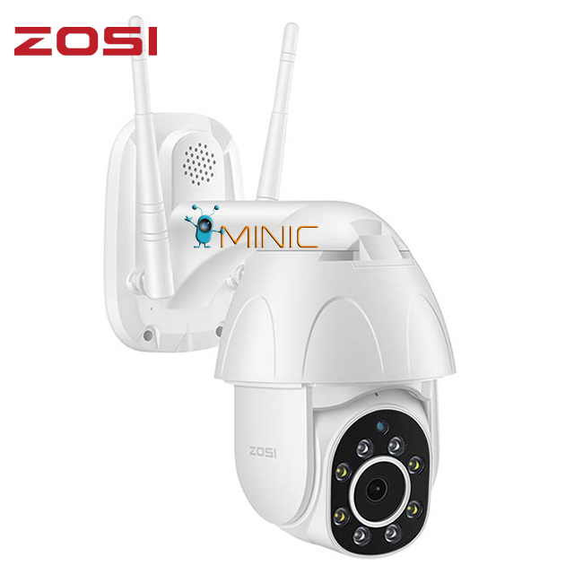 Камера видеонаблюдения ZOSI ZND350W2 1080P PTZ Wi-Fi IP