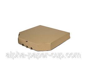 Коробка для пиццы бурая 300*300*39, 100 шт/уп, 30 уп/палет.