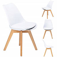 Набор из 4 стульев для кухни и бара GoodHome PC-003 белый (9225-4)