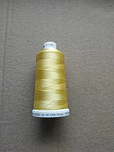Нитки для машинной вышивки   Madeira Classic №40.  цвет 1135 ( ЖЁЛТЫЙ  ).  по 1000 м