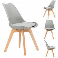 Набор из 4 стульев для кухни и бара GoodHome PC-003 серый (9226-4)