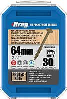 Саморезы для Kreg Jig HD, длина 63,5мм, 30шт