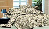 Полуторный комплект постельного белья из Бязи (Хлопок) GOLD LUX