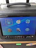 Портативна колонка c екраном A 8-13 з радіомікрофоном / 120W (USB/Bluetooth/Video), фото 2