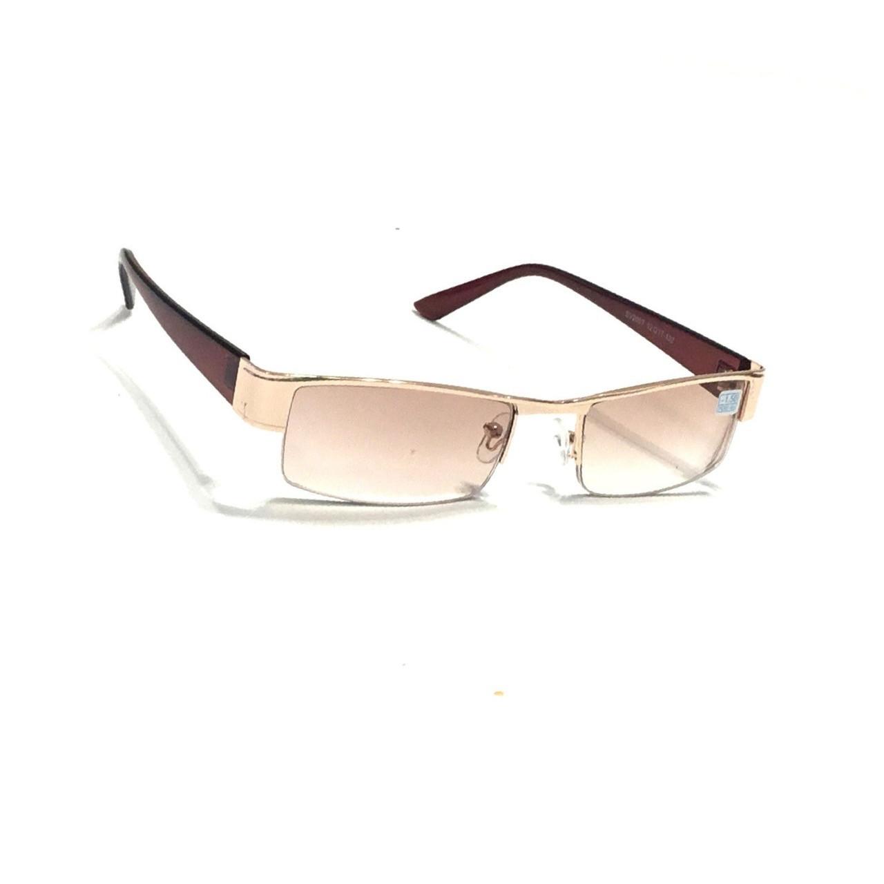 Полуоправные очки с тонированной линзой