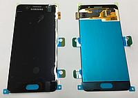 Оригінальний дисплей (модуль) + сенсор для Samsung Galaxy A3 2016 A310F A310H A310M A310N A310Y (чорний, OLED)