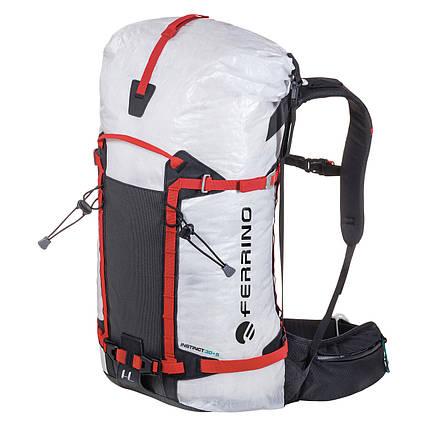 Рюкзак туристический Ferrino Instinct 30+5 White, фото 2